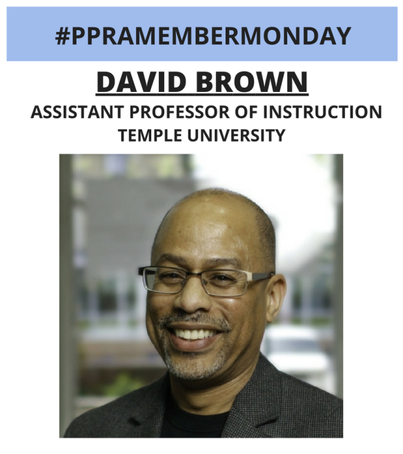 #PPRAMEMBERMONDAY_David Brown