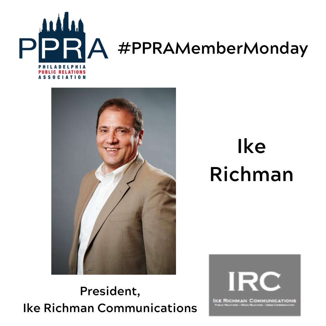 #PPRAMember Monday_Richman